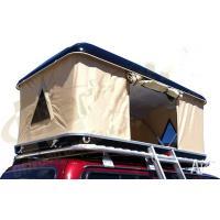 Double Layer Automatic Hard Top Car Tent , 3 Person Roof Top Tent Custom Printed Manufactures