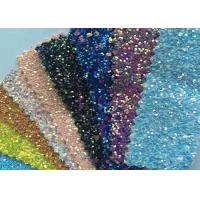 """Fashion Chunky Glitter Fabric 3D Glitter Fabric For Hairbows 54/55"""" Width Manufactures"""