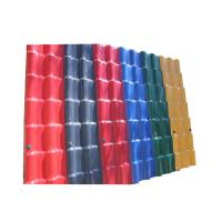Buy cheap 3.0mm Waterproof Performance Corrugated Pvc Plastic Synthetic Resin Building from wholesalers