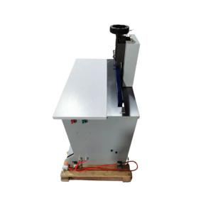 Paper W630mm Double Loop Wire Forming Machine 100 Tines/Min Wire Pressing Machine Manufactures