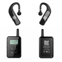 Bone - Conduction Bluetooth Tour Guide System With Earphone 860 - 870 Frequency Manufactures