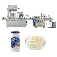Buy cheap Four heads Filling Machine , Sauce filling Machine For Glass Bottle from wholesalers