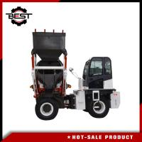 Buy cheap Long Life Self Loading Truck Mounted Concrete Mixer For Construction Use from wholesalers