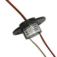 Buy cheap cap type slip ring 6 circuit 2A Gold to Gold Very low contact resistance can be from wholesalers