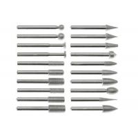Buy cheap Flat Head Stone Cutting Diamond Burr Drill Bits , High Precision Diamond Cut from wholesalers