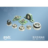 Industrial And Agricultural Mounted Bearing Units Low Noise / Pillar Block Bearings / Types of Ball Bearings Manufactures