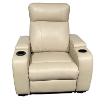 Modern Genuine Leather Cinema VIP Sofa Luxury Home Theater Chair Manufactures