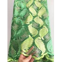 Buy cheap Wholesale red color french fashion african tulle natural mesh lace fabric for from wholesalers