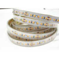 120 LEDS Residential Waterproof Led Rope Lights Outdoor Low Power Consumption Manufactures