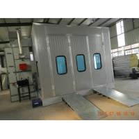 Down Draft Car Spray Booth For Automotive garage with lighting and heating system Manufactures