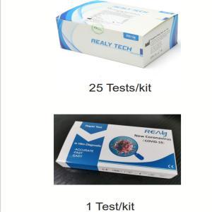 Finger Prick Samples Antibody IgG IgM Rapid Test Kit Manufactures