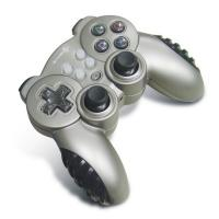 Small Wireless PC Joystick Controller , 12 Button 4 Axis Double Vibration Gamepad