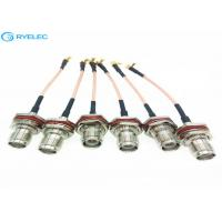 Buy cheap RP - TNC Waterpoof RF Cable Assemblies Female Front Bulkhead Available from wholesalers
