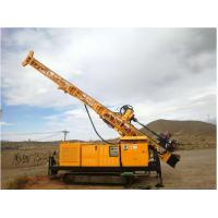 RC300 Full Hydraulic Top Drive Crawler Core Drill Rig Borehole Depth 300 M Manufactures