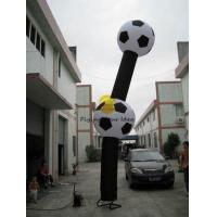 Durable Advertising Inflatable Air Dancer With Football Shaped of Celebration AIR-2 Manufactures