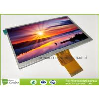 """7.0"""" RGB Interface Lcd Display 800 X 480 , Wide View High Brightness LCD Module Manufactures"""