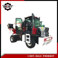 Buy cheap Self Loading Truck Mobile Concrete Mixer Lorry With Loader 5.5 Cubic For from wholesalers