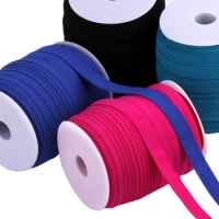 Factory delivery eco-friendly binding elastic webbing tape for waistband Manufactures