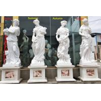 Outdoor garden marble stone statues four season marble sculpture stone carvings,China stone carving Sculpture supplier Manufactures