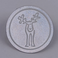 Reflective High Frequency Embossed Soft 3D TPU Patches For Clothes Shoes Manufactures