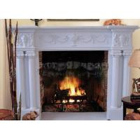 marble mantel  fireplace for home Manufactures