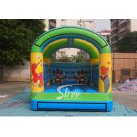 5x4 mts outdoor Let's party kids inflatable bouncy castle made with 610g/m2 pvc tarpaulin Manufactures