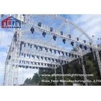 Arch Shape Aluminum Stage Truss , Outdoor Truss StructureTruss Display Systems Manufactures