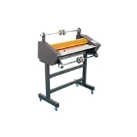 Books Cover Roll Laminating Machines 170D Temp With 550mm Steel Roller Manufactures