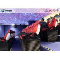 Immersive 9D Cinema System With Spray Air And Water Function Indoor Theme Decoration Manufactures