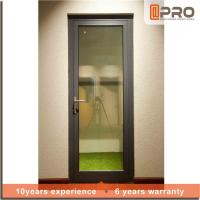 Multi Color Aluminium Hinged Doors With Powder Coated Surface Treatment