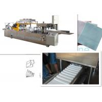 Buy cheap Printing And Folding Non Woven Fabric Machine For N W Fold Shape , Low Noise from wholesalers