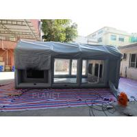 PVC Tarpaulin Outdoor Inflatable Spray Booth Garage Tent Customized Size Manufactures