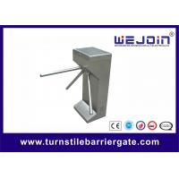 Buy cheap Semi Automatic Vertical Tripod Turnstile , Tripod Barriers For Access Control from wholesalers