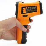Custom Handheld Infrared Thermometer K - Type Temperature Probe Super Quick Response Manufactures