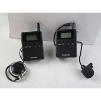 Stereo 008A Tour Guide Transmitter , Tour Guide Receiver For Travel Agencies Manufactures