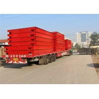 40 Ton Pit Type Weighbridge Color Printing No Overturn During Installation Manufactures