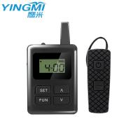 Smart Bluetooth Audio Guide Communication System Ear Hanging Receiver For Travel Agency Manufactures