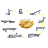 30kg/h wave type potato chips production line Manufactures