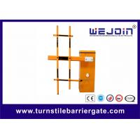 Buy cheap Plastic Road Safety Electric Barrier Gate System LED Screen RS485 Communication from wholesalers