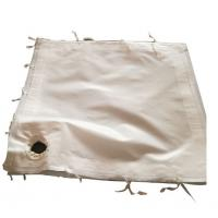 Fiberglass Woven Fabric Industrial Filter Cloth For Wast Incinerators Manufactures
