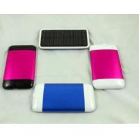 Fast-recharging Durable Portable Solar Chargers Wiht Lithium Polymer For Mobile Phone Manufactures