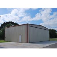 Light Weight Steel Aircraft Hangar Buildings Attractive Appearance Eco Friendly Manufactures