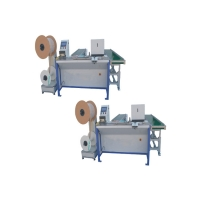 Industrial 1'' Double Loop Wire Binding Machine Electroplating Manufactures