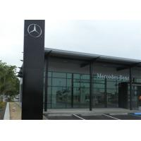 Mercedez Benz Car Showroom Building Steel Structure With 50 Years Lifespan Manufactures