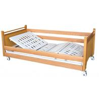 Home Care Electric Nurcing Bed Meidcal Furniture With Wooden Bed Frame Manufactures