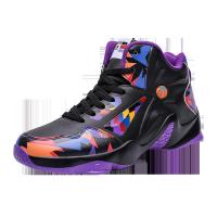 Non Slip Mens Basketball Sneakers High Neck Shock Absorption Abrasion Resistant Manufactures