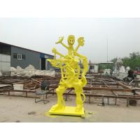 Bronze sculptures for American artist , customized bronze sculpture for exhibition ,China bronze sculpture supplier Manufactures