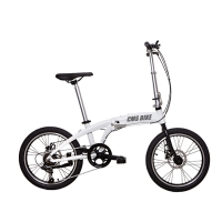 20 Inch Aluminum Alloy Variable Speed Portable Folding Bike Manufactures