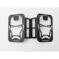 Iron Man Taillight cover for jeep wrangler JK 07+ taillamp cover offroad accessories Manufactures