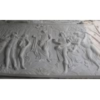 white marble carved panel by hand Manufactures